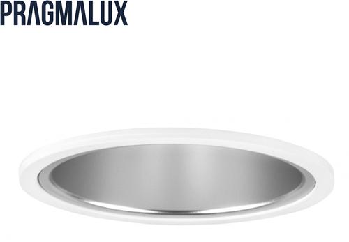 Pragmalux LED Downlight Mado 195 Mat IP44 12W 3000K 1545lm Ø195 Buitenmaat - Gatmaat Ø180 UGR<18