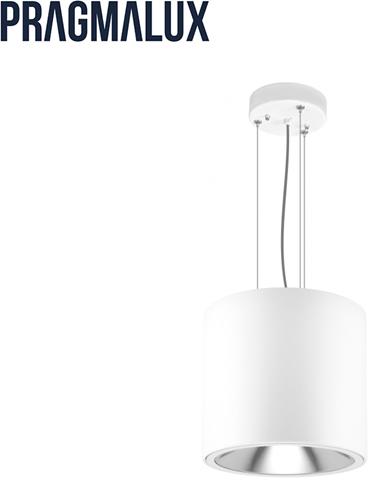 Pragmalux LED Pendel Downlight Mado 205 Darklight 18W 3000K 2486lm Ø205 Buitenmaat - Hoogte Ø190