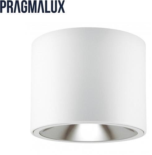 Pragmalux LED Opbouw Downlight Mado 160 Darklight 18W 3000K 2605lm Ø160 Buitenmaat - Hoogte Ø150 UGR<17