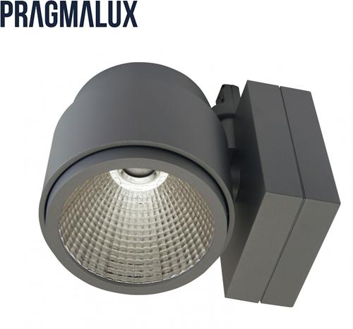 Pragmalux LED 3-Fase Railspot Mozaic 39W 3000K 24° grijs
