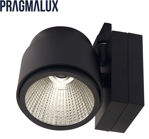 Pragmalux LED 3-Fase Railspot Mozaic 39W 4000K 60° zwart