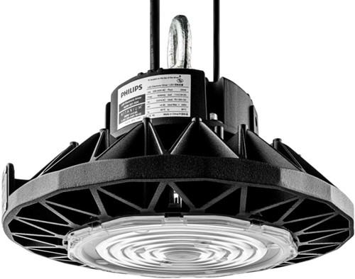 Pragmalux LED Highbay Storm 150W 4000K 21000lm 90D Zwart - 1-10V Dimbaar (400W)