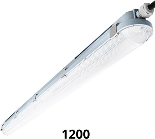 Pragmalux LED TL Waterdicht Armatuur Hermes IP66 120cm 35W 4000K 5100lm (2x36W)