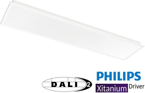 Pragmalux LED Paneel 30x120cm Essence G2 34W 3000K 3900lm UGR<19 +Philips Dali (2x28W)