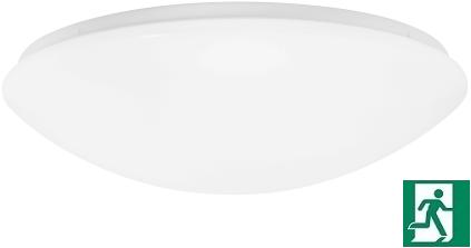 Pragmalux LED Plafonnière / Wandarmatuur Polo IP44 18W 3000K Ø360 EMI1S