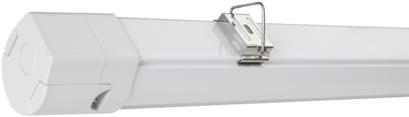 Pragmalux LED TL Waterdicht Armatuur Essence Slim IP65 120cm 35W 3000K 4375lm 3x1,5mm Doorvoerbedrading (2x36W)