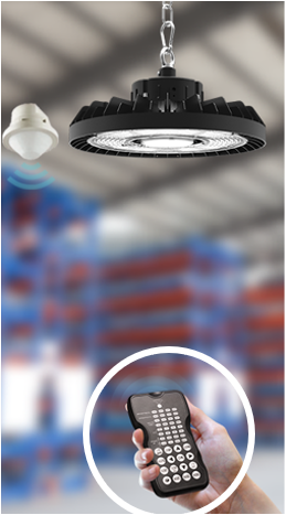 Pragmalux LED Highbay Horizon/Ultra Bewegingssensor Afstandsbediening