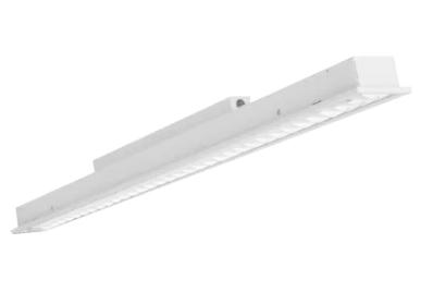 Pragmalux LED Bandrasterarmatuur 15x150cm inbouw 28W 3400lm 3000K UGR<16 Matt DALI