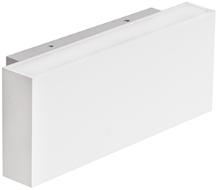 Berla LED Wandlamp Buiten & Binnen IP54 BE0005 5.4W 2700K Rechthoek wit