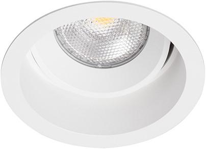 Berla LED Inbouwspot IP20 Rond Verdiept Kantelbaar BR0004W GU10 wit