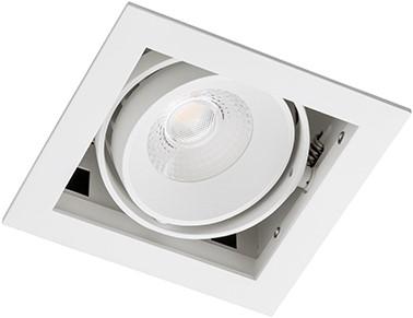 Berla LED Inbouwspot Cardanisch BR0031W Kantelbaar 7W 36D 2700K wit - dimbaar