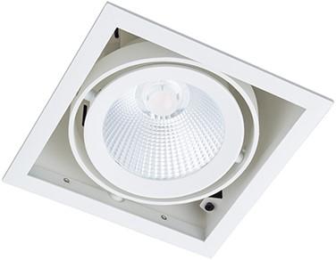 Berla LED Inbouwspot Cardanisch BR0035W Kantelbaar 15W 36D 2700K wit - dimbaar