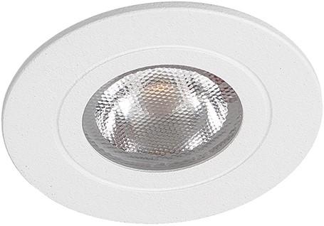 Berla LED Inbouwspot IP44 Rond BR0041W 2.2W 2700K wit 40D - excl. Driver