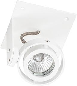 Berla LED Inbouwspot Trimless Cardanisch BR1022 Kantelbaar GU10 wit