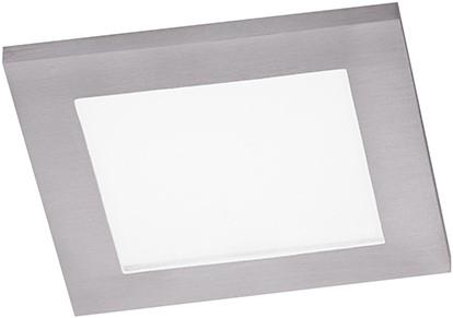Berla LED Inbouwspot IP44 vierkant Vlak BR1400 GU10 aluminium