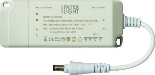 Interlight LED Downlight EasyFit LED Driver Dimbaar 20W 230V/500mA
