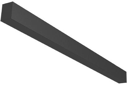 Orion Linear dummyprofiel zonder LED zwart