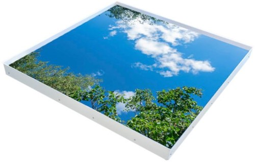Interlight LED Paneel 120x120cm Active Sky Wolken & Bomen 30W 6500K 3200lm