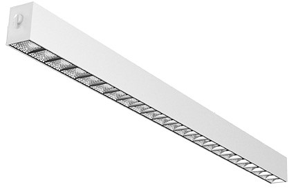 Interlight LED Pendelarmatuur Orion Linear Up/Down 29W 3000K 85D 3000lm Wit UGR<19 - Dimbaar