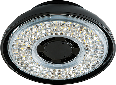 Interlight LED Highbay Vision 155W 5000K 20000lm 110D Zwart UGR<26 (400W)