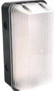 Interlight LED Portiekarmatuur Vandaalbestendig 8W 4000K IP65