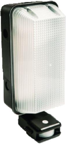 Interlight LED Portiekarmatuur Vandaalbestendig 8W 4000K IP65 PIR-sensor