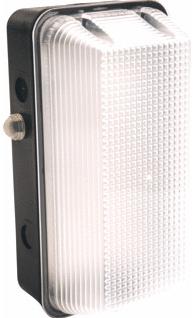Interlight LED Portiekarmatuur Vandaalbestendig 8W 4000K IP65 daglichtsensor