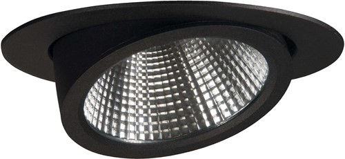 Pragmalux LED Richtspot Scopa 33W 3000K 40° zwart