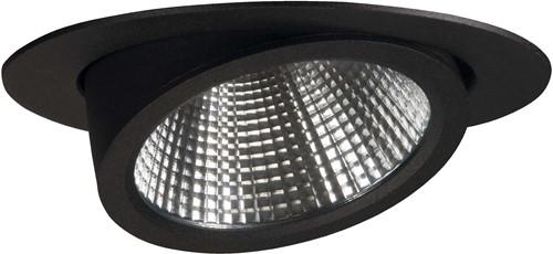 Pragmalux LED Richtspot Scopa 45W 3000K 40° zwart