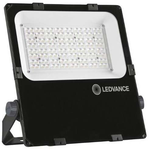 Ledvance Breedstraler Performance IP66 150W 3000K 18400lm Zwart - Asymmetrisch 55x110 (400W)