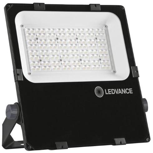 Ledvance Breedstraler Performance IP66 150W 3000K 18700lm Zwart - Symmetrisch 30D (400W)