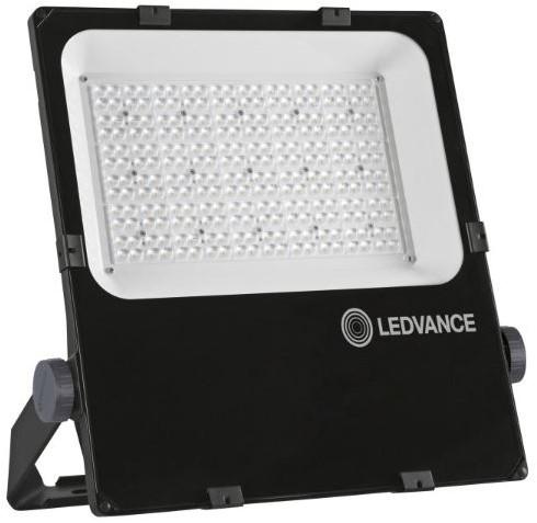 Ledvance Breedstraler Performance IP66 200W 3000K 24200lm Zwart - Asymmetrisch 45x140 (500W)