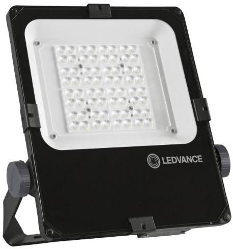 Ledvance Breedstraler Performance IP66 50W 3000K 5800lm Zwart - Asymmetrisch 55x110 (100W)