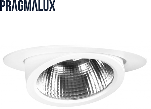 Pragmalux LED Richtspot Scopa 62W 4000K 60° wit