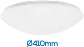 Pragmalux LED Plafonnière / Wandarmatuur Polo G2 IP44 22W 3000K-6000K 3-CCT 1950-2150lm Ø410 (1x32W)