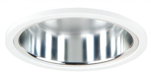 Pragmalux LED Downlight Mado 195 Hoogglans IP44 12W 3000K 1695lm Ø195 Buitenmaat - Gatmaat Ø180 UGR<19