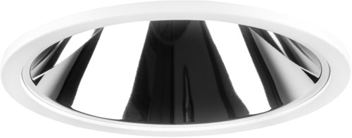 Pragmalux LED Downlight Mado 195 Darklight 25W 3000K 3395lm Ø195 Buitenmaat - Gatmaat Ø180
