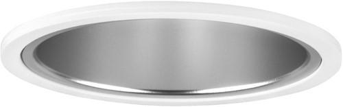 Pragmalux LED Downlight Mado 195 Mat IP44 18W 3000K 2160lm Ø195 Buitenmaat - Gatmaat Ø180 UGR<18