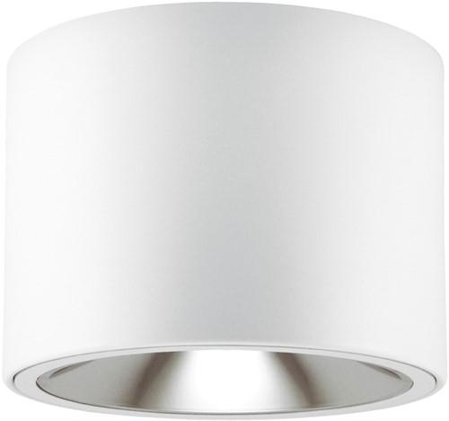 Pragmalux LED Opbouw Downlight Mado 130 Darklight 13W 3000K 1545lm Ø130 Buitenmaat - Hoogte Ø140 UGR<17