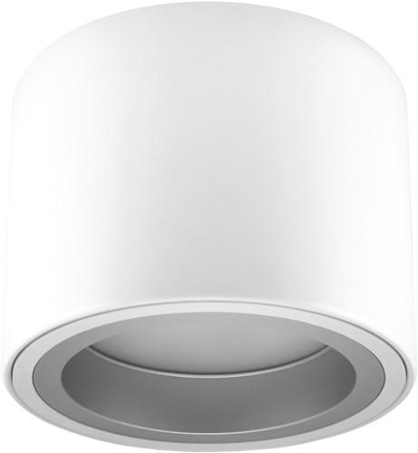 Pragmalux LED Opbouw Downlight Mado 205 Mat IP40 25W 4000K 3100lm Ø205 Buitenmaat - Hoogte Ø190 UGR<18