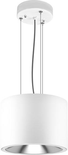 Pragmalux LED Pendel Downlight Mado 205 Darklight 25W 3000K 3395lm Ø205 Buitenmaat - Hoogte Ø190