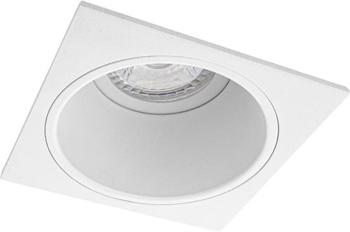 Pragmalux Inbouwspot Mido Vierkant Wit - Incl. GU10 Fitting
