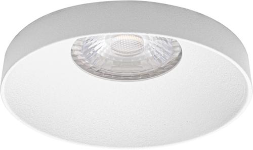 Pragmalux LED Inbouwspot Vita IP44 12W 2700K CRI>90 38D 650lm Wit Ø82 Buitenmaat - Gatmaat Ø75 - Dimbaar