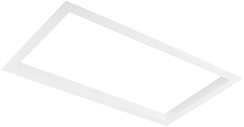 Pragmalux LED Inbouwspot Squadro 2V Wit Ø215x390 Buitenmaat - Gatmaat Ø205x370