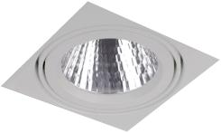 Pragmalux LED Inbouwspot Squadro LED Module Incl. Driver 42W 3000K CRI>90 PW 60D 5300lm Grijs