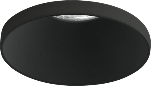 Pragmalux LED Inbouwspot Vita IP44 12W 4000K CRI>90 38D 800lm Zwart Ø82 Buitenmaat - Gatmaat Ø75 - Dimbaar