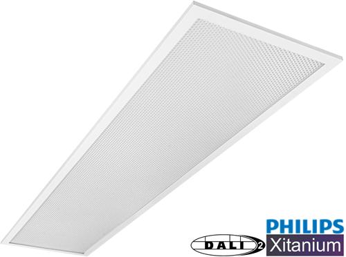 Pragmalux LED Paneel 30x120cm Essence G2 34W 4000K 4100lm UGR<19 +Philips Dali (2x28W)