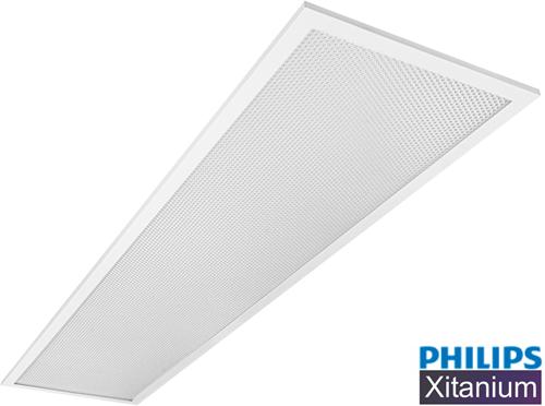 *** Pragmalux LED Paneel 30x120cm Essence G2 32W 3000K 3600lm UGR<19 +Philips Xitanium Driver (2x28W)