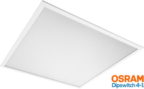 Pragmalux LED Paneel 60x60cm Essence G2 21-30W 3000K 2550-3450lm UGR<19 +Osram Driver (4x14W)