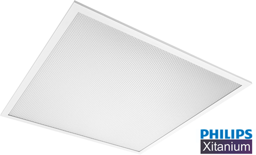 *** Pragmalux LED Paneel 60x60cm Essence G2 32W 4000K 3850lm UGR<19 +Philips Xitanium Driver (4x14W)